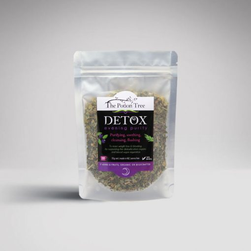 Detox evening potion tree nz botanical tea weight blood sugar organic australia plants nettle green tea rosehip skin purity blueberry yerba mate morning evening program senna free