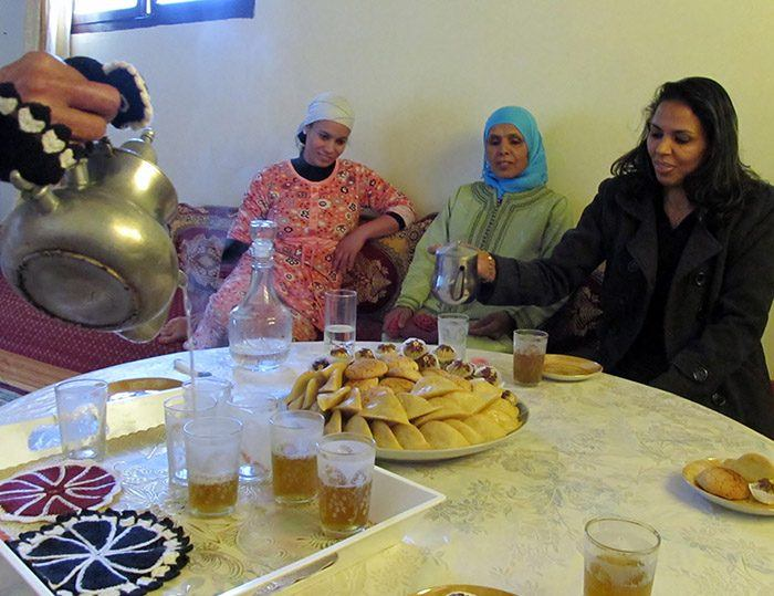 arabic moroccan mint tea