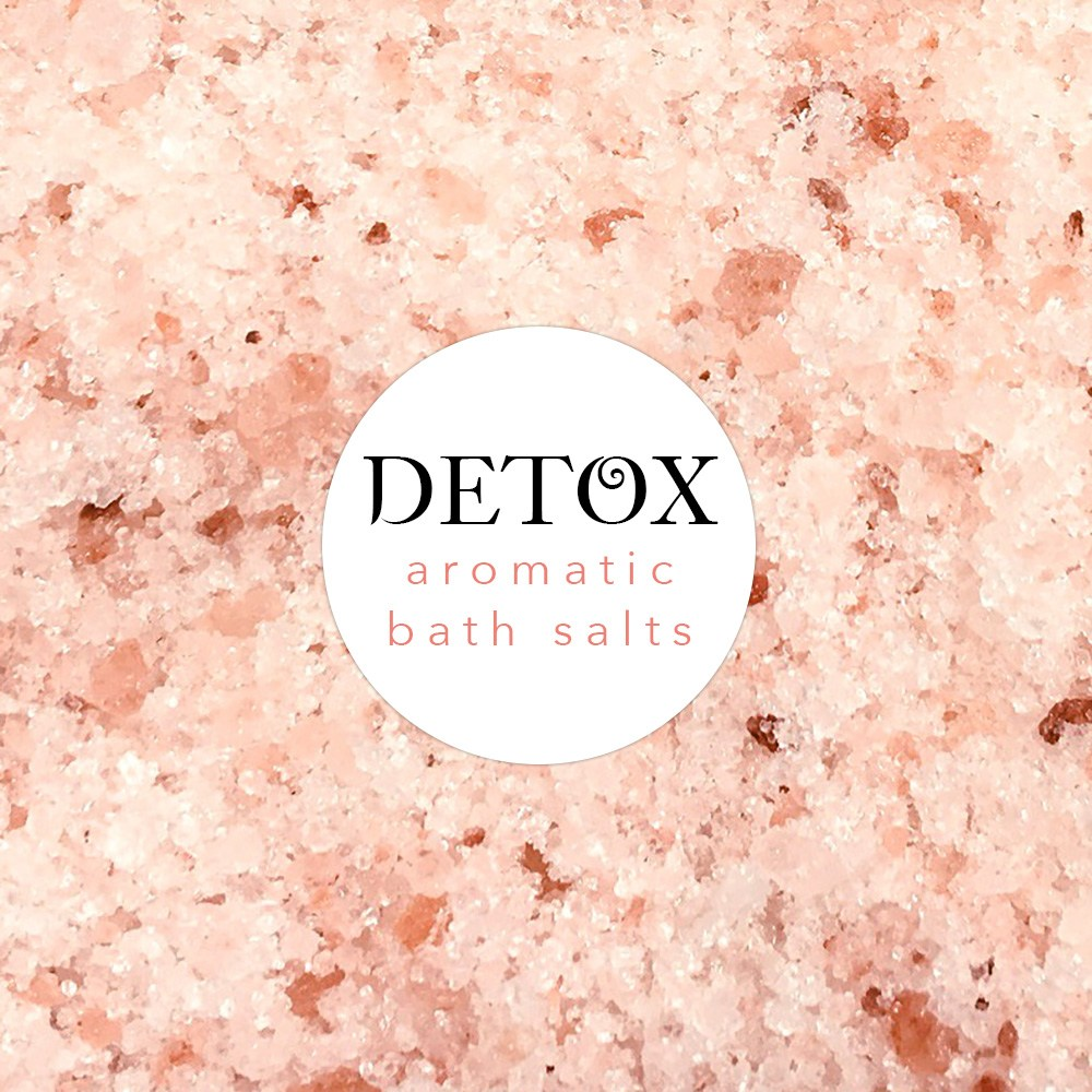 detox bath soak salts himalaya dead sea salt epsom pink natural essential oils