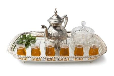 arabic moroccan mint tea