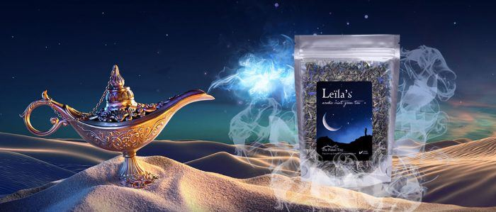 leila arabic mint tea