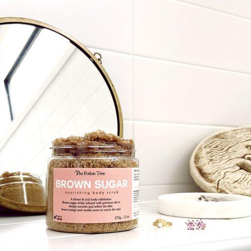 Brown Sugar Nourishing Body Scrub
