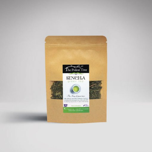 sencha green tea organic natural nz the potion tree best