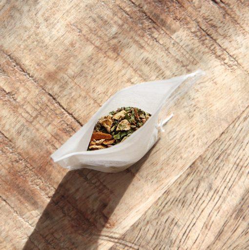 empty tea bags corn starch eco friendly compostable biodegradable nz new zealand paper