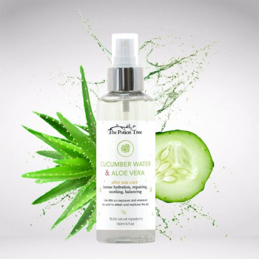 Cucumber & Aloe hydrosol – intense hydration