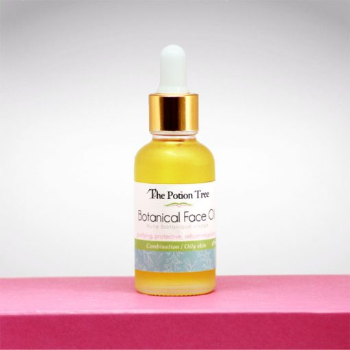 Botanical Face Oil serum oily combination skin