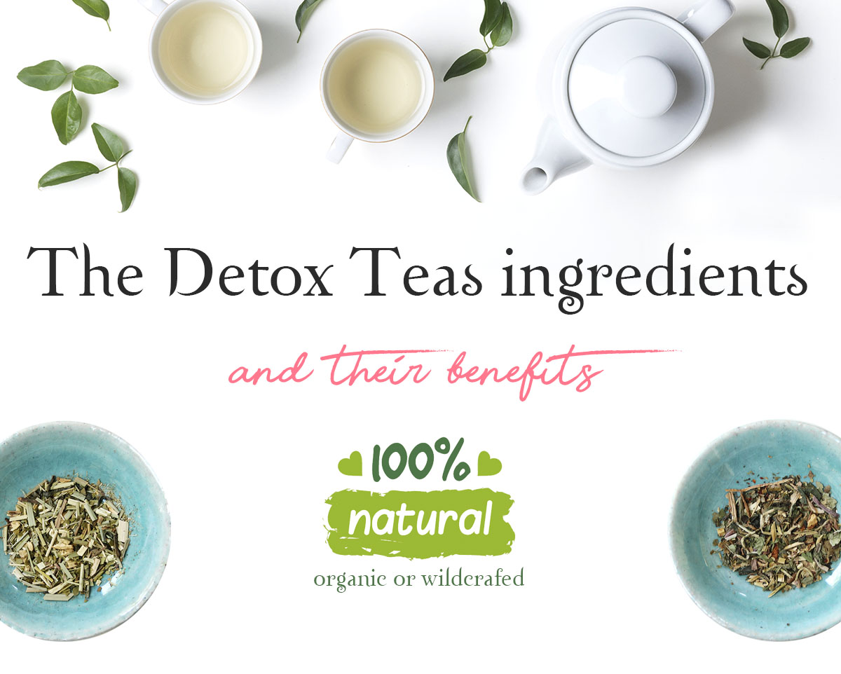 detox tea ingredient benefits organic natural